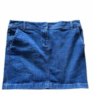 Ann Taylor Loft Denim Skirt Size 8